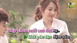 giac mo yeu (karaoke) - hoang quan, vo ha tram