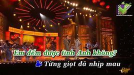 giot cafe dau tien (karaoke) - manh quynh, truong vu