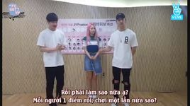 160604 jypnation 'rock, paper, scissors' - jb vs yeeun vs dowoon (vietsub) - got7, wonder girls, day6