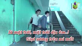 giot suong tren mi mat (karaoke) - thanh lam