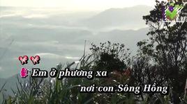 gui em o cuoi song hong (karaoke) - minh dung, thu huong