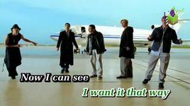 i want it that way (karaoke) - backstreet boys