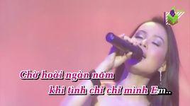 ke dung sau tinh yeu (remix) (karaoke) - cam ly