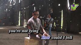 khoang cach chia doi (english version) (karaoke) - hakoota dung ha