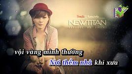 khong the ngung nho (karaoke) - le vu binh