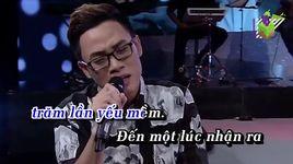 muon khoc that to (karaoke) - truc nhan