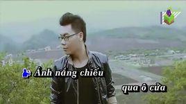 nu cuoi la phep mau (karaoke) - hamlet truong