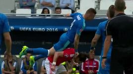 wales 2-1 slovakia - highlight (bang b euro 2016) - v.a