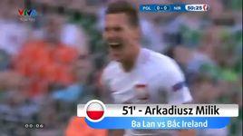 ba lan 1-0 bac ireland highlight (bang c euro 2016) - v.a