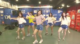 on the road (dance practice) - dia band