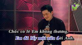 khong can thiet chi tinh anh (karaoke) - lam nhat tien