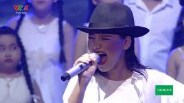 nhan to bi an 2016 - liveshow 8: earth song - tran minh nhu - v.a