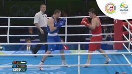 quyen anh hang can 91kg nam tu ket: uzbekistan - azerbaijan (olympic rio 2016) - v.a