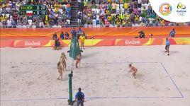 bong chuyen bai bien nu vong loai: brazil - phan lan (bang a) (olympic rio 2016) - v.a