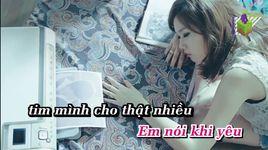 kho qua (karaoke) - hong truc