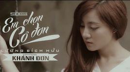 em chon co don (karaoke) - luong bich huu