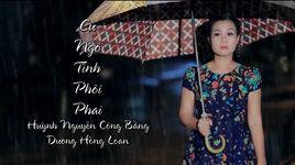 cu ngo tinh phoi phai (karaoke) - duong hong loan, huynh nguyen cong bang
