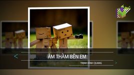 am tham ben em (karaoke) - trinh dinh quang