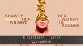 millionaire (alan walker remix) (lyric video) - cash cash, digital farm animals, nelly, alan walker