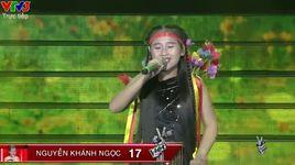 giong hat viet nhi 2016 - liveshow 3: tieng dan ta lu - nguyen khanh ngoc - v.a