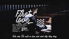 first love (handmade clip) (vietsub) - suga (bts)