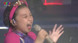 giong hat viet nhi 2016 - liveshow 6: ngau hung song hong - hong nhung ft nguyen hoang mai anh - v.a