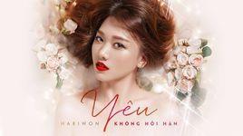 yeu khong hoi han (karaoke) - hari won
