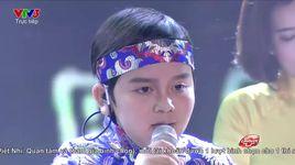 giong hat viet nhi 2016 - liveshow 7 chung ket: hat tu coi nguon - dao nguyen thuy binh - v.a