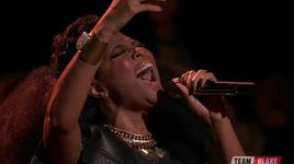 the voice 2016 - live playoffs: it must have been love - courtney harrell - v.a