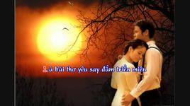 yeu em giua doi quen lang (lyrics) - dieu hien