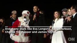 tong thong obama hat jingle bells trong le giang sinh cuoi cung tai nha trang - v.a