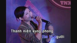 nhung bong hoa tren tuyen lua (karaoke) - thanh thuy