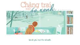 chang trai mac ao xanh (lyrics) - mademoiselle