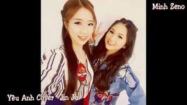 yeu anh cover (handmade clip) - jin ju