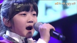 co be 11 tuoi hat tomorrow cuc dinh tai the voice kids han quoc - v.a