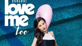 love me too (karaoke) - dong nhi