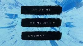 galway girl (lyric video) - ed sheeran