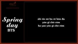 spring day (phien am tieng viet) - bts (bangtan boys)
