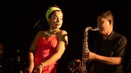 j'ai deux amours (live at a jazzy night) - athesia
