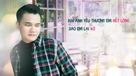hoi tham nhau (lyric video) - khac viet
