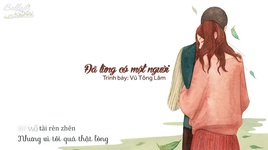 da tung co mot nguoi / 曾经有个人 (vietsub, kara) - vu tong lam