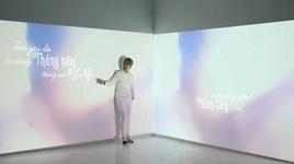 thang nam ruc ro (lyric video) - kai dinh