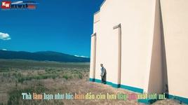 tung la ban than (lyric video) - andykiz