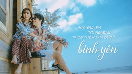 dua em di khap the gian (lyric video) - bich phuong