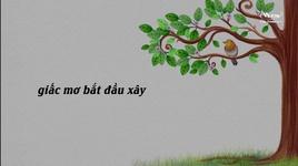 noi ay toi mo (lyric video) - duong trieu vu, tan da