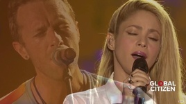 yellow (live at global citizen festival hamburg) - coldplay, shakira