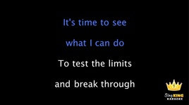 let it go (karaoke) - idina menzel