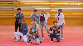dna (mv shooting) - bts (bangtan boys)