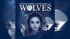wolves (visualizer) - selena gomez, marshmello
