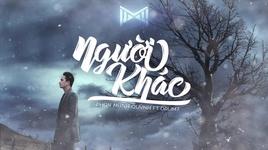 nguoi khac (lyric video) - phan manh quynh, drum7